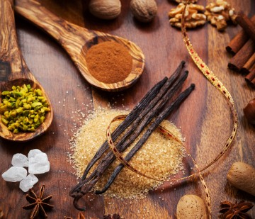 Aromatic food ingredients for baking